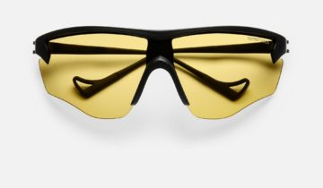 DISTRICT VISION SUN JUNYA 140 BLACK/YELLOW